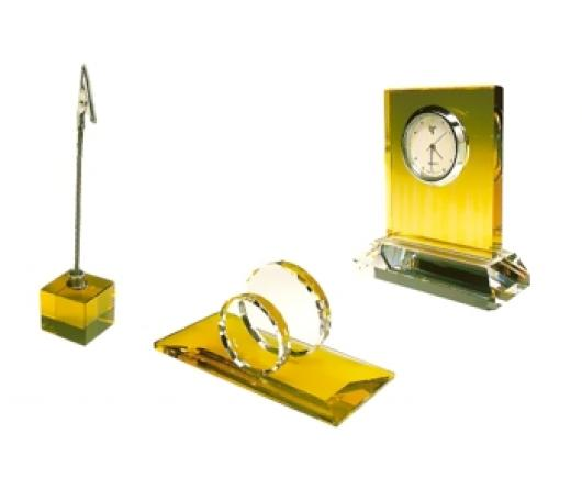 Set Birou Cristal G-yellow